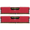 Corsair 16GB (2x8GB) Vengeance LPX Red 2666MHz DDR4 CL16 1.20V Dual-channel memória