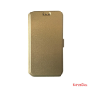 CELLECT Huawei P8 Lite flip oldalra nyiló tok+tartó, Arany