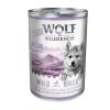 Wolf of Wilderness Little Wolf of Wilderness 6 x 400 g - Wild Hills Junior - kacsa & borjú