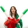 Olasz Zászló Tapsoló