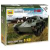 Zvezda Soviet Light Tant T-60 tank makett Zvezda 6258