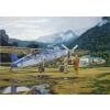 Pilatus PC-6 C H-2 Turbo-Porter repülő makett Roden 440