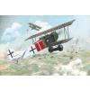 Fokker D.VII Albatros built, late repülő makett Roden 424