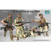TRUMPETER US Marine Corps Iraq 2003 figura makett Tumpeter 00407