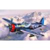 Revell P-47 M Thunderbolt katonai repülő makett revell 3984