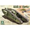 Takom WWI Heavy Battle Tank Mark IV Male Tadpole tank harcjármű makett Takom 2015