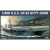 Academy CV-63 U.S.S. KITTY HAWK hajó makett Academy 14210