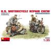 MiniArt U.S. MOTORCYCLE REPAIR CREW figura makett MiniArt 35101