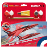 AIRFIX Red Arrow Gnat Starter Set repülő makett Airfix A55105