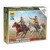 Zvezda Soviet Cavalry figura makett Zvezda 6161
