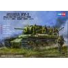 """HobbyBoss Russian KV-1 Model 1941 &quotKV Small Turret"""" Tank makett HobbyBoss 84810"""
