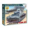 Zvezda German Medium Tank Pz.Kp.fw III G tank makett Zvezda 6119