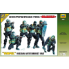 Zvezda Russian Antiterrorist Unit ALFA figura makett Zvezda 3598