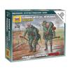 Zvezda German Megical Personnel 1941-43 figura makett Zvezda 6143