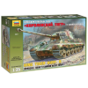 Zvezda KingTiger Ausf B (Henschel turret) tank harcjármű makett zvezda 3601