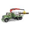 Bruder MACK Granite rönkszállitó teherautó (02824)