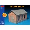 MiniArt Workshop épület makett MiniArt 72022