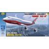 Zvezda BOEING 747-8 polgári repülő makett Zvezda 7010