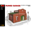 MiniArt RUINED GARAGE épület dioráma makett Miniart 35511