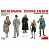 MiniArt GERMAN CIVILIANS figura makett MiniArt