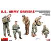 MiniArt U.S. Army Drivers figura makett Miniart 35180