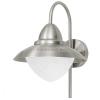 EGLO Sidney - 83966 - kültéri falra szerelhető lámpa, rozsdamentes acél (inox), E27 foglalat, IP44