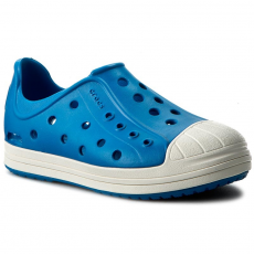 CROCS Félcipő CROCS - Crocs Bump It Shoe K 202281 Ultramarine/Oyster