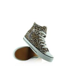 Leopárd mintás tornacipő,38-as méret