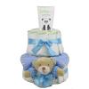 Pelenkatorta Webshop Babaváró ajándék ötlet: Pelenkatorta kisfiúnak BabyZoo babapopsikrémmel