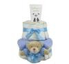 Pelenkatorta Webshop Babaváró ajándék ötlet: Pelenkatorta kisfiúnak BabyZoo babapopsikrémmel pelenka
