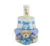 Pelenkatorta Webshop Babaváró ajándék ötlet: Pelenkatorta kisfiúnak BabyZoo baba hintõporral pelenka