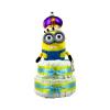 Pelenkatorta Webshop Babaváró ajándék ötlet: Minion Bob király pelenkatorta