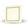 VTAC LED panel TwinLED - négyszög (22 Watt) meleg fehér