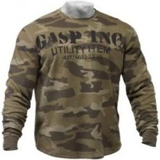Gasp Thermal Gym Sweater (terepmintás) (1 db)