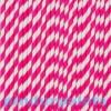 Szívószál papír 19,5 cm pink S/10