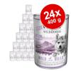 Wolf of Wilderness Little Wolf of Wilderness 24 x 400 g - Blue River Junior - csirke & lazac