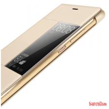 Huawei P9 Lite book cover, Arany tok és táska
