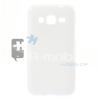 Samsung Galaxy Core Prime Fényes Szilikon Tok Fehér