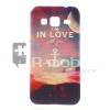 Samsung Galaxy Core Prime Tok Szilikon Mintás RMPACK (i love)