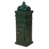 Antik postaláda - zöld
