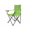 OEM Összecsukható szék pohártartóval - világoszöld