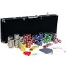 Póker készlet, 500 db-os zseton - Ultimate black
