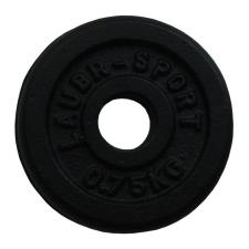 Súlytárcsa súlyzóhoz 0,75 kg - 30 mm súlytárcsa