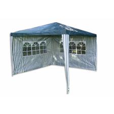 Kerti parti sátor – zöld 3 x 3 m + 2 oldalfallal sátor
