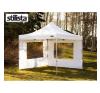 OEM Két oldalfal STILISTA kerti sátorhoz 3 x 3 m - fehér kerti bútor