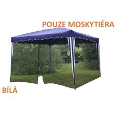 OEM Szúnyogháló kerti parti sátorhoz 3 x 3 m - fehér szúnyogháló