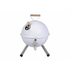 OEM Kerti kerek mini grillsütő – fehér kerti sütés és főzés