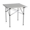 Összecsukható kerti alumínium asztal, 70 x 70 cm
