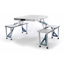 Összecsukható alumínium asztal beépített paddal. kerti bútor