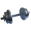 Egykezes kézisúlyzó - 11 kg, krómozott